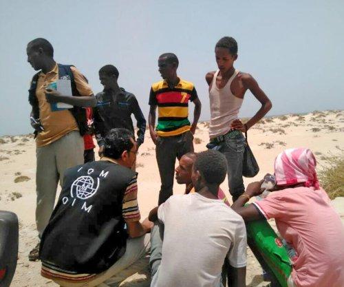 U.N.: Smuggler 'pushed' migrants off boat, killing dozens