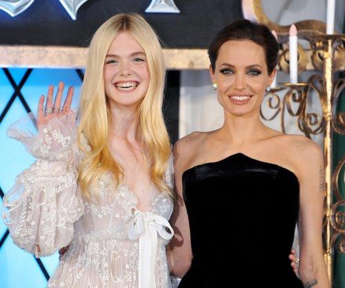 'Maleficent 2': Angelina Jolie, Elle Fanning reunite on set