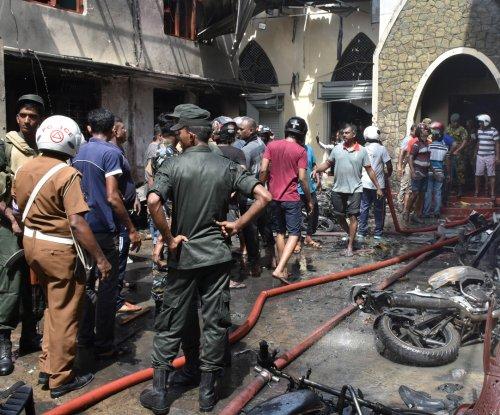 At least 207 killed, 450 hurt in eight church, hotel bombings in Sri Lanka
