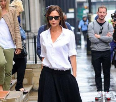 Victoria Beckham visits newly launched London store