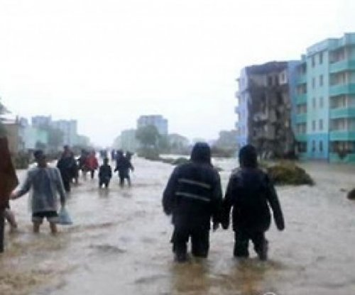 North Korea airs footage of floods that killed at least 40