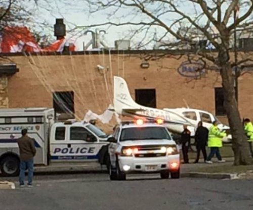 Plane parachutes to safety after losing power over New York state