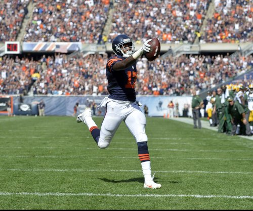 Alshon Jeffery at Chicago Bears minicamp after skipping OTAs