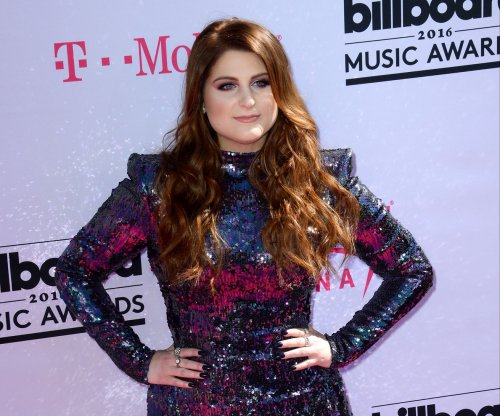 Meghan Trainor performs duet with James Corden in LA