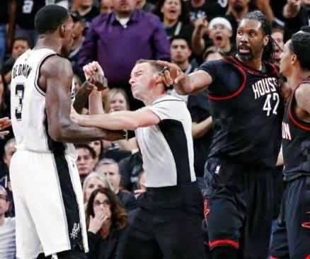 Houston Rockets' Nene fined $15K for Game 1 altercation vs. San Antonio Spurs