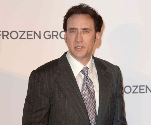 Nicolas Cage not endorsing the Japanese snack brand Riska