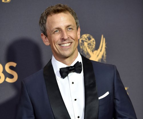 Globes' Meyers: 'Good evening, ladies, and remaining gentlemen'