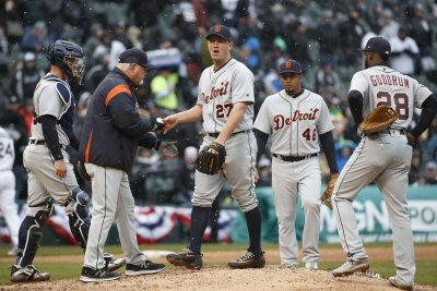 Tigers try to find a way to stop six-game skid vs. Athletics