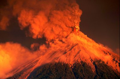 Guatemala's 'Volcano of Fire' erupts again; thousands evacuate