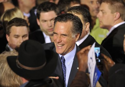 Romney sweeps 3 states, targeted by Obama