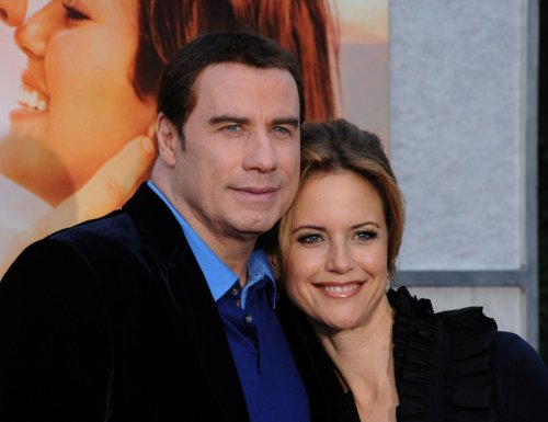 Kelly Preston gives birth to a son