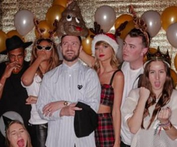 Taylor Swift celebrates 25th birthday with Beyonce, Justin Timberlake