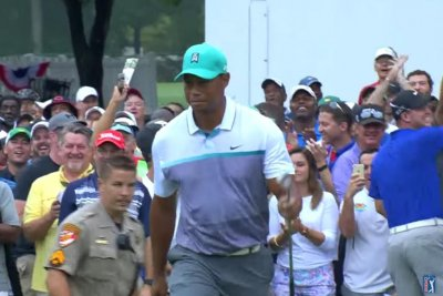Tiger Woods two back at Wyndham
