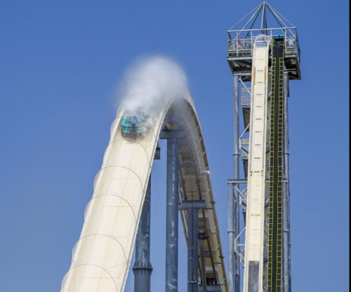 Kansas lawmaker's young son killed on water slide