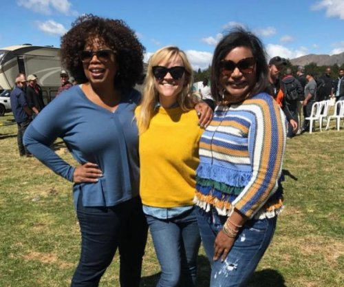 Reese Witherspoon, Mindy Kaling, Oprah post from set in New Zealand