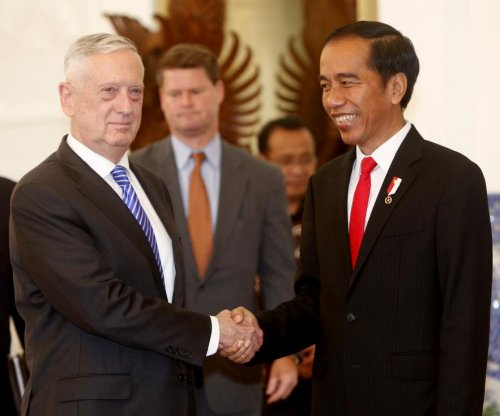 Mattis calls disputed waters 'North Natuna Sea' in Indonesia