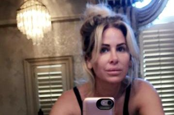 Kim Zolciak feeling 'almost 40' in new Snapchat selfie