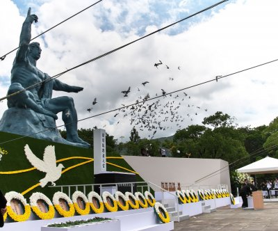 Nagasaki calls for end to nuclear weapons on 75th anniversary of atomic bombing