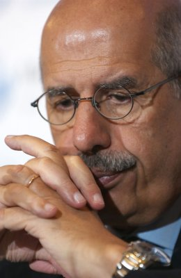ElBaradei sees vote rigging if he ran