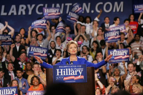 Political writers predict Clinton in 2016