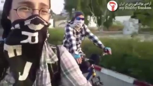 Iranian women share cycling videos in defiance of Ayatollah ban