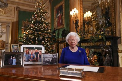 Queen urges harmony, hails climate activists in Christmas address