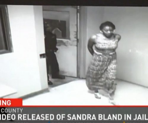 Texas jail releases Sandra Bland video that shows her alive at booking