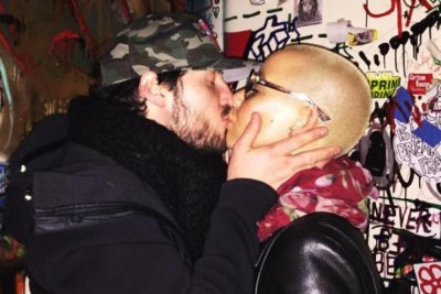 Amber Rose kisses Val Chmerkovskiy in new photo: 'My love'