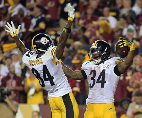 Keep on Twerking: Pittsburgh Steelers WR Antonio Brown celebrates NFL rule change