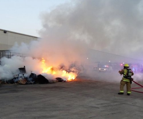 Firefighters battle 'spontaneous combustion of tortilla chips'
