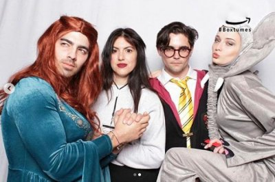 Joe Jonas dresses as Sansa Stark for Halloween