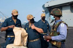 Ghanaian, Nigerian forces join U.S. ship for Gulf of Guinea exercises