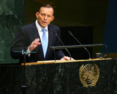 Australia's prime minister vows to 'shirt-front' Putin at upcoming summit