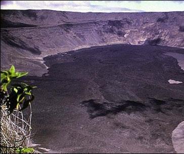 Galapagos Islands volcano erupts