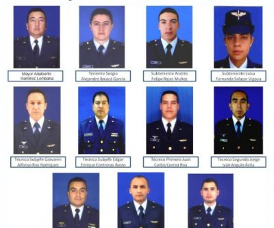 Colombian military transport plane crashes, 11 soldiers dead