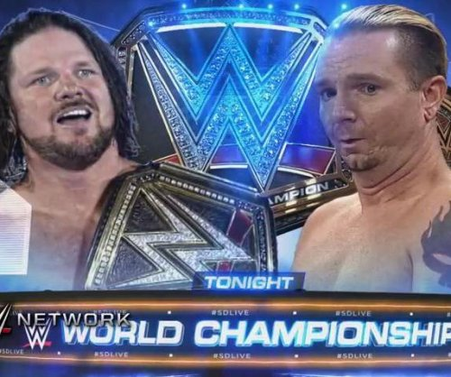 WWE Smackdown Live: AJ Styles defends his title against unlikely hero James Ellsworth
