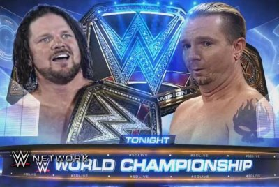 WWE Smackdown Live: AJ Styles defends his title against unlikely hero James Ellsworth