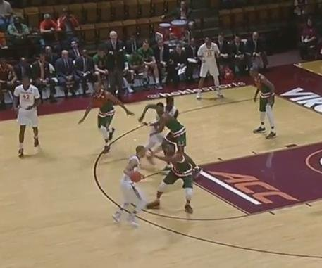 Ty Outlaw leads Virginia Tech past No. 25 Miami