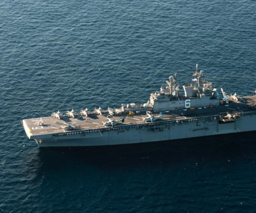 U.S. Navy's USS America completes survivability test