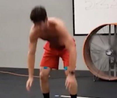 Firefighter does 5,297 burpees in 12 hours to break record