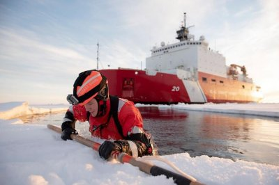 Fire on Coast Guard icebreaker Healy ends Arctic scientific mission