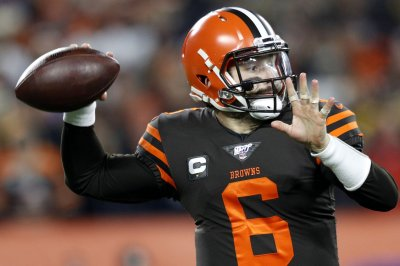 Mayfield, defense leads Browns over Giants on 'SNF'
