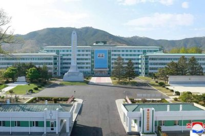 North Korea opens newly renovated hospital during 'mask-on' ceremony