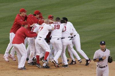 MLB: LA Angels 5, N.Y. Yankees 4