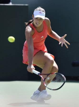 Top-seeded Ivanovic ousted at Italian Open