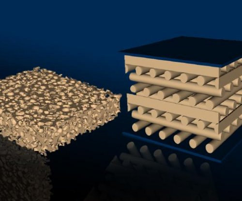 3D-printed foam proves more durable than traditional cellular materials