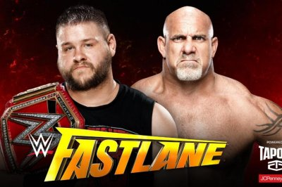 WWE Fastlane: Goldberg becomes new Universal Champion