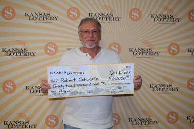 Man wins $22,000 jackpot with free lottery ticket