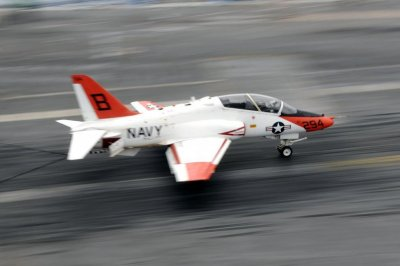 Navy exercises $180M contract option for T-45 support