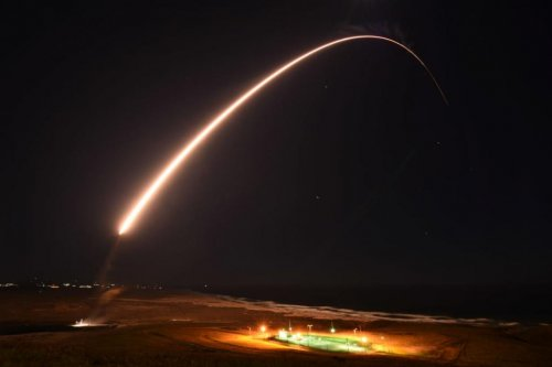 Minuteman III ICBM test launch hits its target, 4,200 miles away